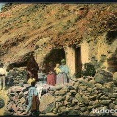 Postales: POSTAL LAS PALMAS CUEVAS . PERESTRELLO PHOTO CA AÑO 1905. Lote 101086255