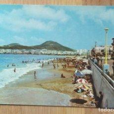 Postales: LAS PALMAS DE GRAN CANARIA - PLAYA DE LAS CANTERAS. Lote 101847915