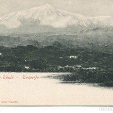 Postales: TENERÍFE-PICO DEL TEIDE- BAZAR FRANCÉS- 1900 -SIN DIVIDIR. Lote 102405959