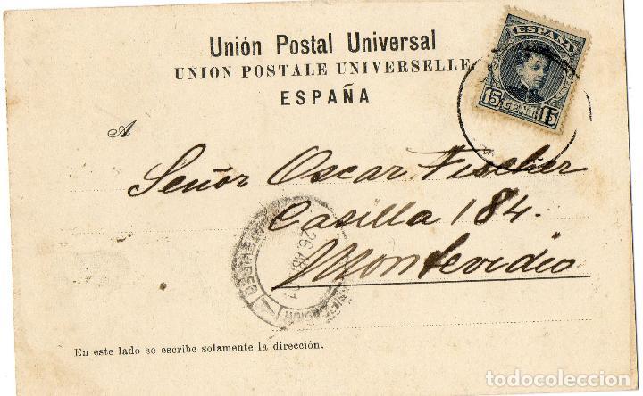 Postales: POSTAL ANTIGUA SALUDOS DE LAS PALMAS - Foto 2 - 102746927