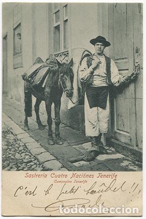 TENERIFE-CAMPESINO DE TENERIFE (Postales - España - Canarias Moderna (desde 1940))