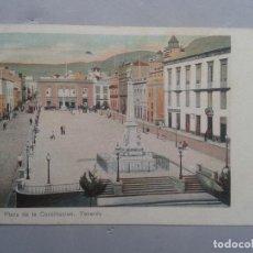 Postales: TENERIFE. PLAZA DE LA CONSTITUCIÓN.. Lote 102977219