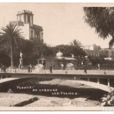 Postales: LAS PALMAS. POSTAL FOTOGRAFICA PUENTE DE VERDUGO. LAS PALMAS. Lote 103060083