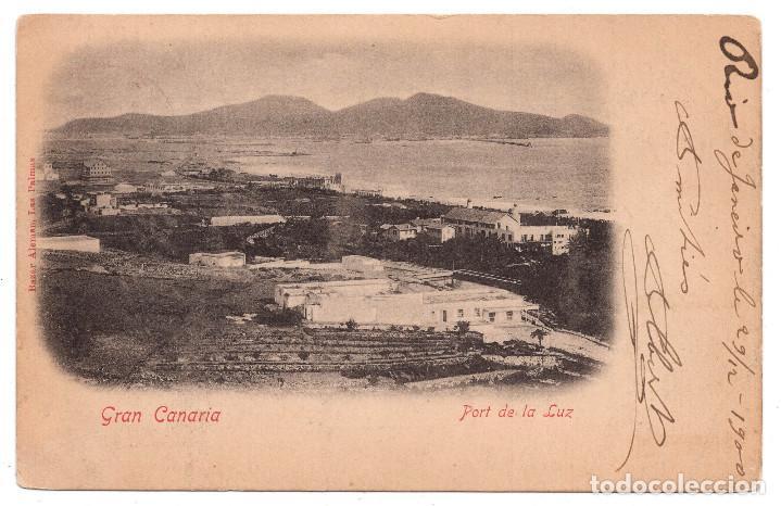 GRAN CANARIA. PORT DE LA LUZ (Postales - España - Canarias Antigua (hasta 1939))