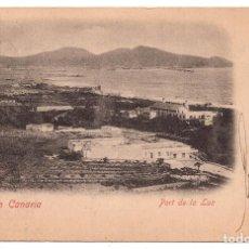 Postales: GRAN CANARIA. PORT DE LA LUZ. Lote 103060275
