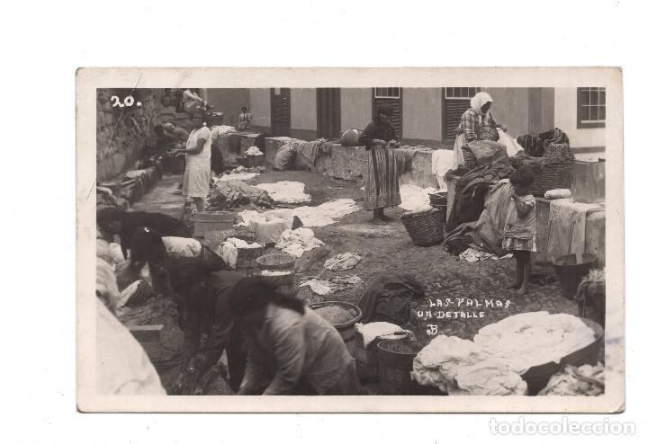LAS PALMAS. POSTAL FOTOGRÁFICA. UN DETALLE (Postales - España - Canarias Antigua (hasta 1939))