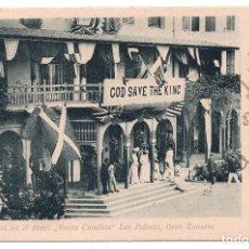 Postales: LAS PALMAS. FIESTA EN EL HOTEL. SANTA CATALINA, LAS PALMAS. GRAN CANARIA. Lote 103061639