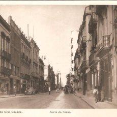 Postales: LAS PALMAS DE GRAN CANARIA CALLE TRIANA FOTO POSTAL. Lote 103189399