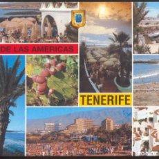 Postales: 266- TENERIFE .- PLAYA DE LAS AMERICAS.- DIVERSOS ASPECTOS.. Lote 103302023