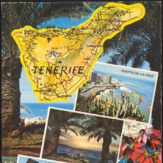 Postales: TENERIFE.- PUERTO DE LA CRUZ - TEIDE. Lote 103302843