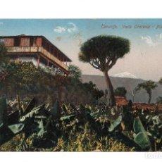 Postales: CANARIAS. TENERIFE.- VALLE DE OROTAVA PLATANERA . Lote 103715503
