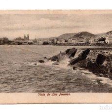 Postales: CANARIAS. VISTA DE LAS PALMAS. Lote 103727591