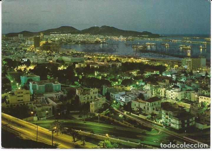 Postal Vista Nocturna De La Ciudad Gran Cana Kaufen Postkarten