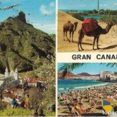 Postales: == A1538 - POSTAL - GRAN CANARIA - VARIAS VISTAS. Lote 103778307