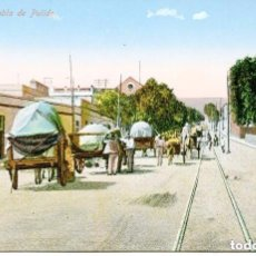 Postales: TENERIFE-- RAMBLA DE PULIDO-CARROS TÍPICO-. Lote 103869551