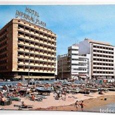 Postales: GRAN CANARIA. 1051 INSTALACIONES HOTELERAS EN PLAYA DE LAS CANTERAS. MIGUEL DÍAZ. NUEVA. Lote 103924035