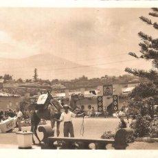 Postales: PUERTO DE LA CRUZ TENERIFE PLAYA DE MARTIANEZ 1960 FOTO POSTAL. Lote 103964983