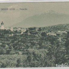 Postales: EL PICO DESDE ICOD TENERIFE. NO FIGURA FOTÓGRAFO. SIN CIRCULAR. CANARIAS.. Lote 104280735