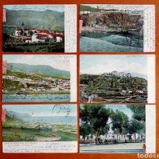 Postales: LOTE 6 POSTALES GRAN CANARIA, LA PALMA, SANTA CRUZ, OROTAVA, LA LAGUNA, TENERIFE - 1904 SIN DIVIDIR. Lote 104288710