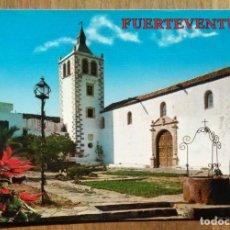 Postales: BETANCURIA - FUERTEVENTURA - CATEDRAL. Lote 105017747