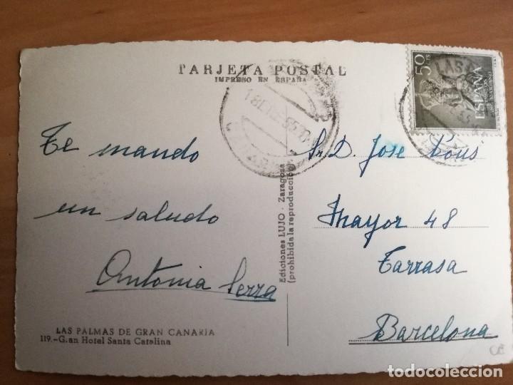 Postales: Las Palmas de Gran Canaria, Gran Hotel Santa Catalina - Foto 2 - 105233975