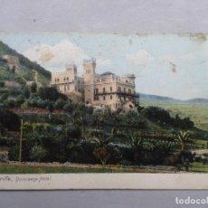 Postales: TENERIFE. QUISISANA HOTEL. FRANQUEADA EL 30 DE ABRIL DE 1907.. Lote 105361699