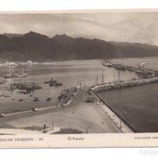 Postales: SANTA CRUZ DE TENERIFE - EL PUERTO - ARRIBAS, 26 - FOTOGRÁFICA . Lote 105677311