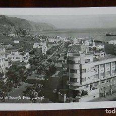 Postales: FOTO POSTAL DE SANTA CRUZ DE TENERIFE VISTA PARCIAL, FOTO BAENA, CIRCULADA. Lote 105721431