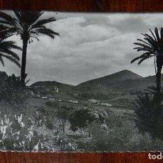 Postales: FOTO POSTAL DE LAS PALMAS DE GRAN CANARIA, MONTE SANTA BRIGIDA, D.E.C. 27, CIRCULADA. Lote 105721555