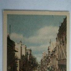 Postales: POSTAL LAS PALMAS, CALLE DE TRIANA, PROPIEDAD DE LA EMPRESA VDA. DE RAFAEL ROMERO. SIN CIRCULAR.. Lote 105744491