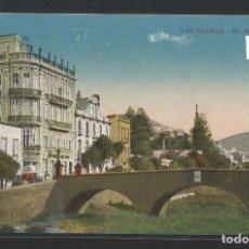 Postales: LAS PALMAS DE GRAN CANARIA - EL BARRANCO - ESCRITO EN ESPERANTO - P23995. Lote 105909567
