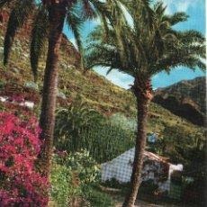 Postales: GRAN CANARIA PAISAJE DEL VALLE DE AGAETE AÑOS 70. Lote 107372191