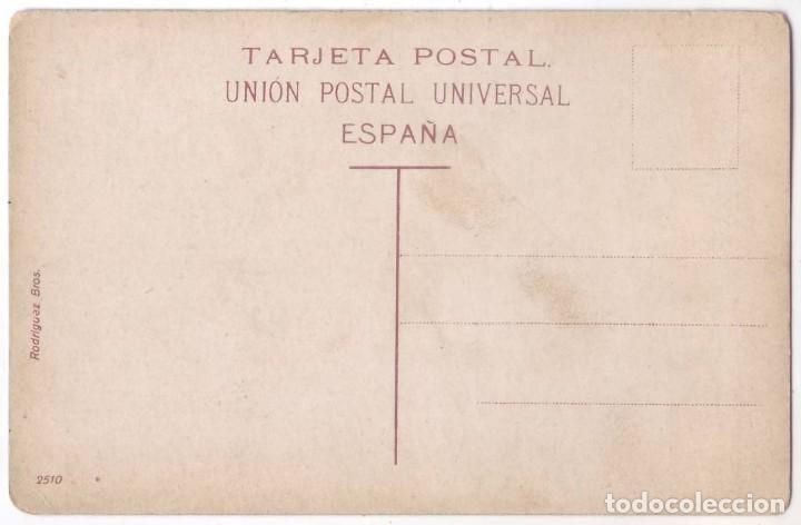 Postales: Islas Canarias: Campesinos en la Trilla. Rodriguez Bros. No circulada (Años 10) - Foto 2 - 107653139