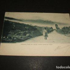 Postales: TENERIFE EL TEIDE DESDE MATANZA POSTAL REVERSO SIN DIVIDIR CIRCULADA EN 1903. Lote 110104031