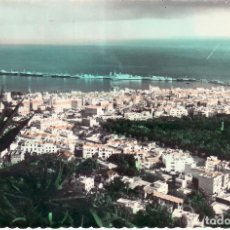 Postales: SANTA CRUZ DE TENERIFE - VISTA PARDIAL - EDICIONES LUJO - COLOREADA. Lote 110451503
