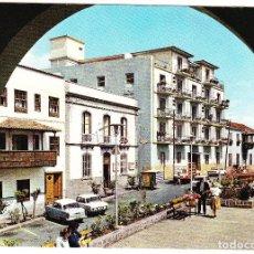 Postales: ISLAS CANARIAS - TENERIFE - PUERTO DE LA CRUZ - CALLE LUSITANA - HOTEL MONOPOL. Lote 111087163