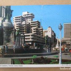 Postales: POSTAL TENERIFE - PORTICO DE ENTRADA A LA CAPITAL - AÑOS 60-70 - ESCRITA. Lote 111687539