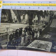 Postales: POSTAL DE TENERIFE. FECHADA AÑO 1934 . OROTAVA ALFOMBRA DE FLORES NATURALES. . 289. Lote 112615903