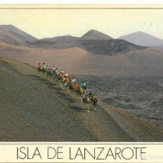 Postales: == PJ560 - POSTAL - ISLA DE LANZAROTE - PARQUE NACIONAL DE TIMANFAYA . Lote 112680319
