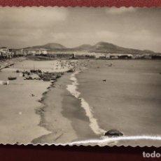 Postales: POSTAL LAS PALMAS DE GRAN CANARIA, PLAYA DE LAS ALCARAVANERAS, 133. Lote 112738031
