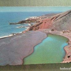 Postales: POSTAL LANZAROTE EL GOLFO. Lote 113636647