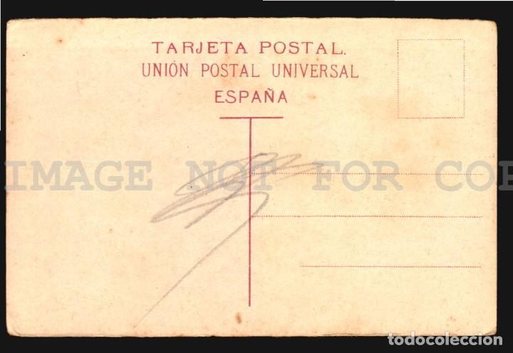 Postales: Gran Canaria Puerto de la luzJ. Perestrello Nº1 - Antigua tarjeta postal original de epoca ca 1900 - Foto 2 - 113693143