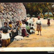 Postales: LAS PALMAS LAVANDERAS J PERESTRELLO Nº29- ANTIGUA TARJETA POSTAL ORIGINAL DE EPOCA CA 1900 . Lote 113694831