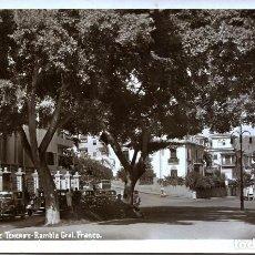 Postales: SANTA CRUZ DE TENERIFE-RAMBLA GENERAL FRANCO- BAENA. Lote 113956867