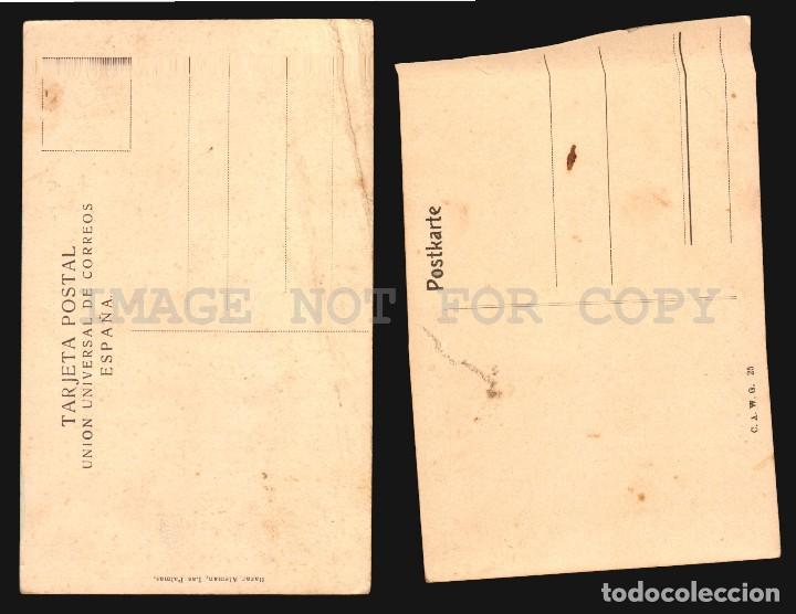 Postales: LAS PALMAS GRAN CANARIA 2 ANTIGUAS TARJETAS POSTALES - Foto 2 - 114463635