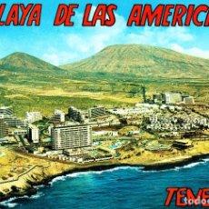 Postales: PLAYA DE LAS AMERICAS - TENERIFE -VISTA AÉREA- (EUROAFRICANA DE CANARIAS AM7) SIN CIRCULAR / P-2576. Lote 114631659