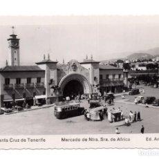 Postales: SANTA CRUZ DE TENERIFE, TENERIFE, MERCADO DE NTRA. SRA. DE AFRICA, FOTOGRAFICA. ED. ARRIBAS. Lote 114812815