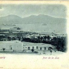 Postales: GRAN CANARIA. PORT DE LA LUZ. EDICIÓN BAZAR ALEMÁN - LAS PALMAS.. Lote 115132771