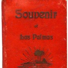 Postales: LAS PALMAS. ALBUM-ESTUCHE CON 12 POSTALES SIGLO XIX FORMANDO ACORDEÓN. EDICION J. PERESTRELLO. VER... Lote 115244803