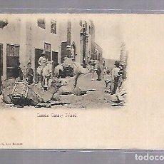 Postales: TARJETA POSTAL DE LAS PALMAS - CAMELS CANARY ISLAND. BAZAR ALEMAN. Lote 115689211